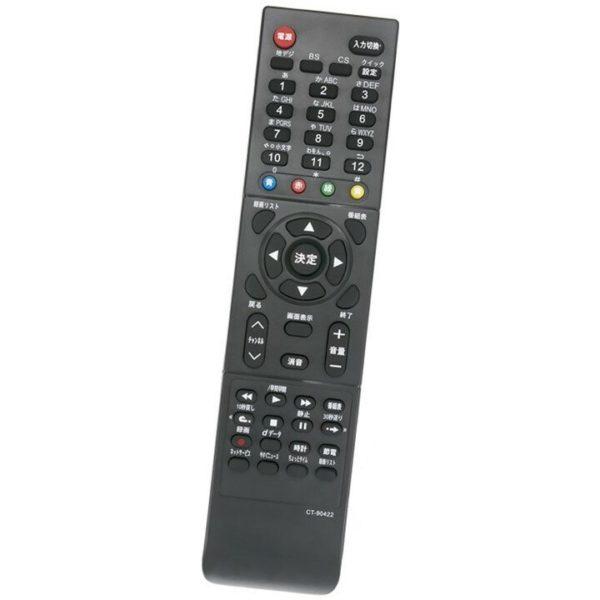 東芝 レグザ テレビ 代用リモコン CT-90422